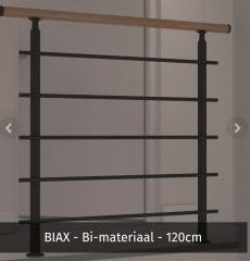 hekwerk 120 cm biax