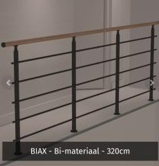 hekwerk 320 cm biax